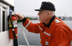 Regularly Inspect Fire Extinguishers, Courtesy of USCG