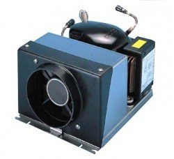 Firgoboat air-cooled condensing unit for marine regeneration